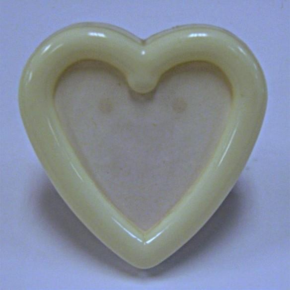 2 12 Heart Shaped Plastic Frame W Easel Back Shipfe 059